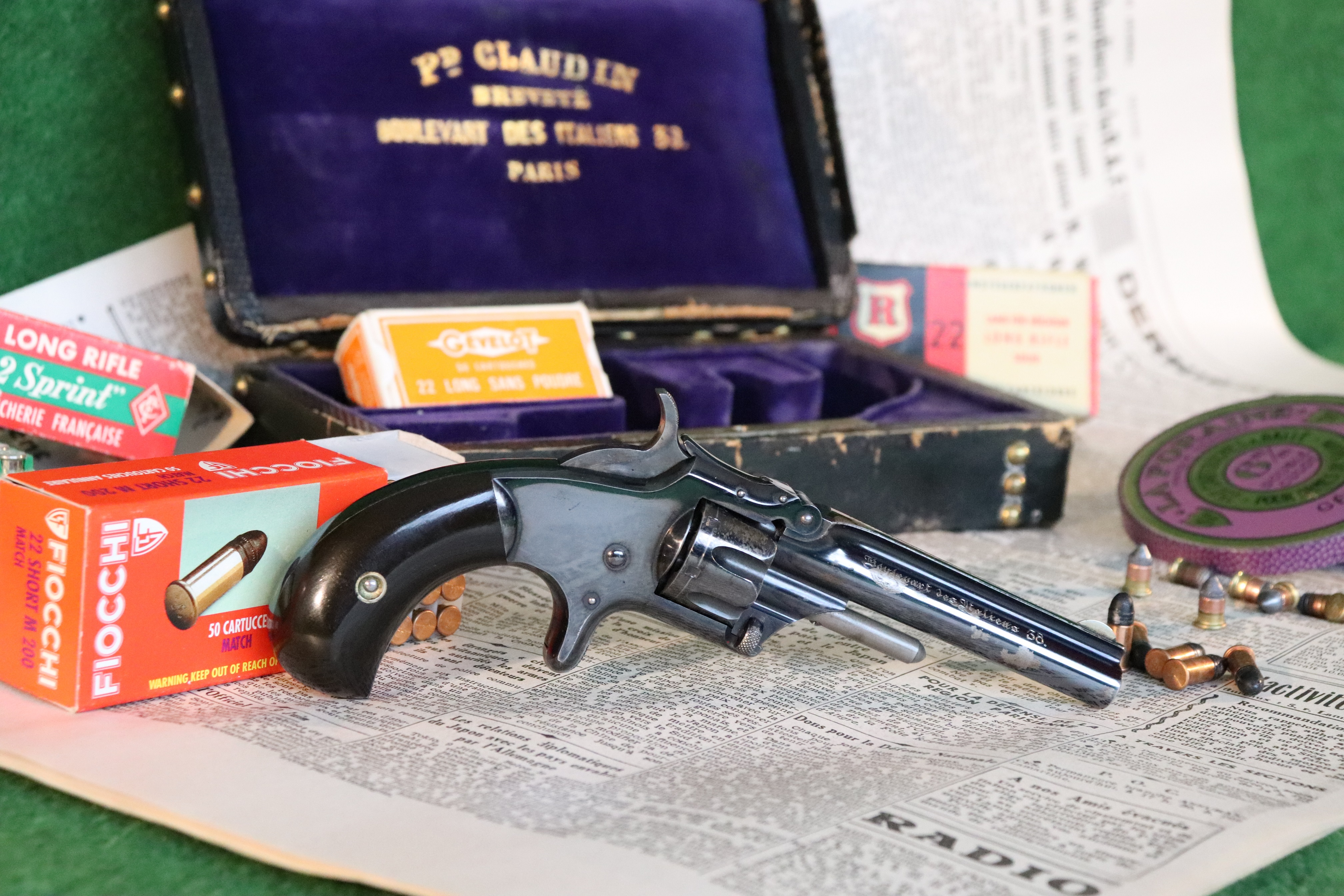 Revolver F. Claudin