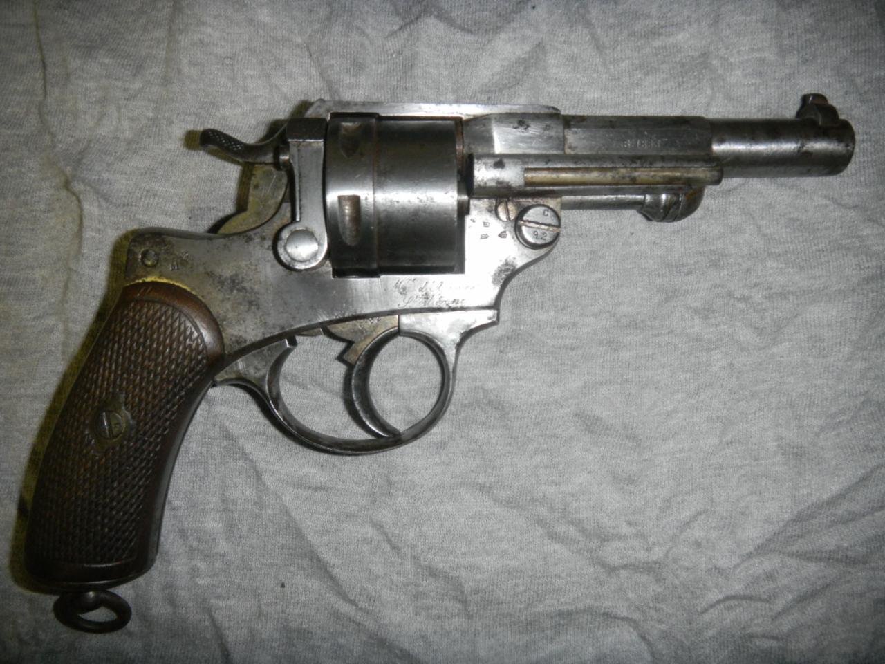 Revolver Manufacture de Saint Etienne de 1873