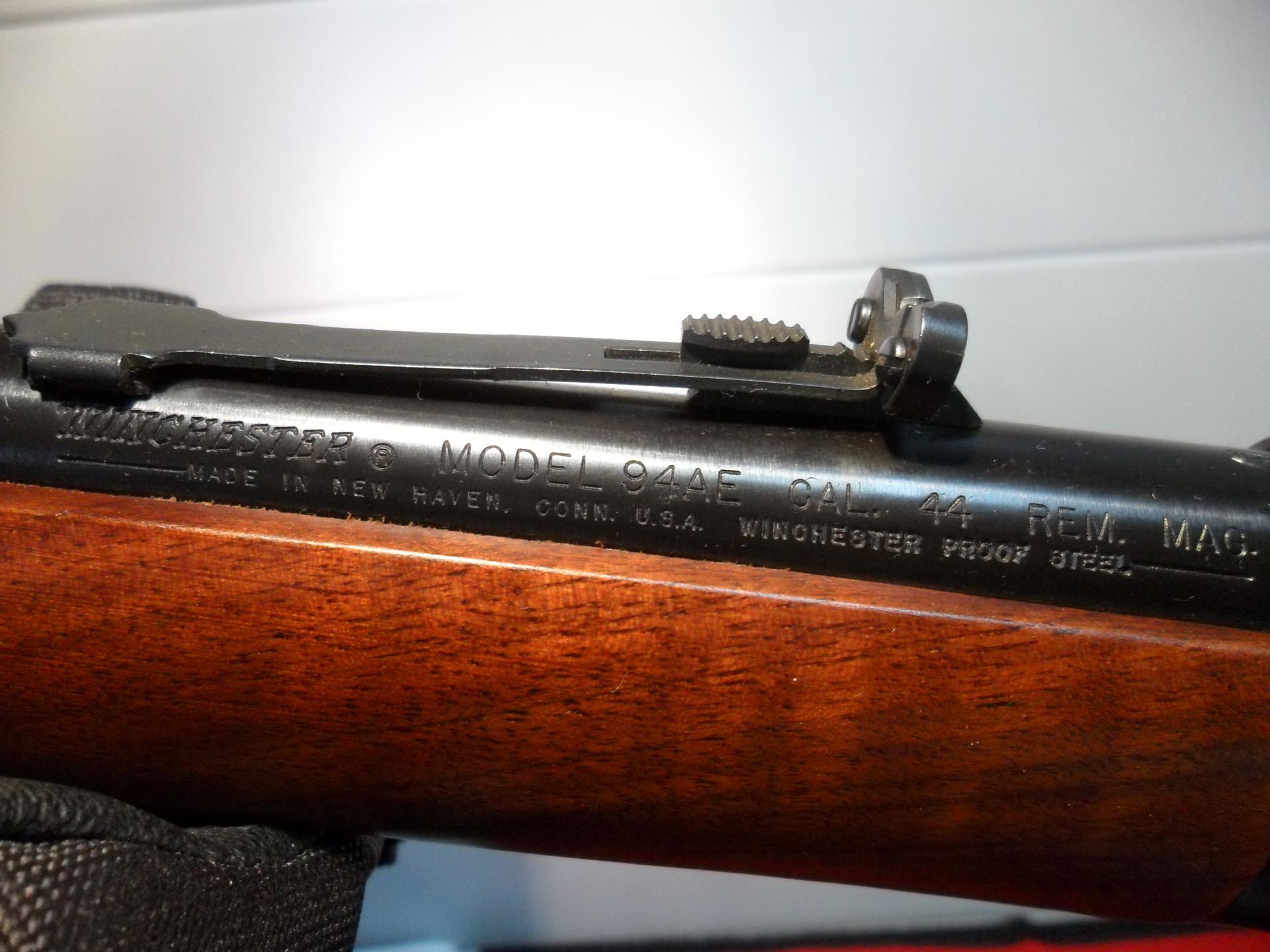 Winchester 1894 AE calibre .44 Rem. Magnum