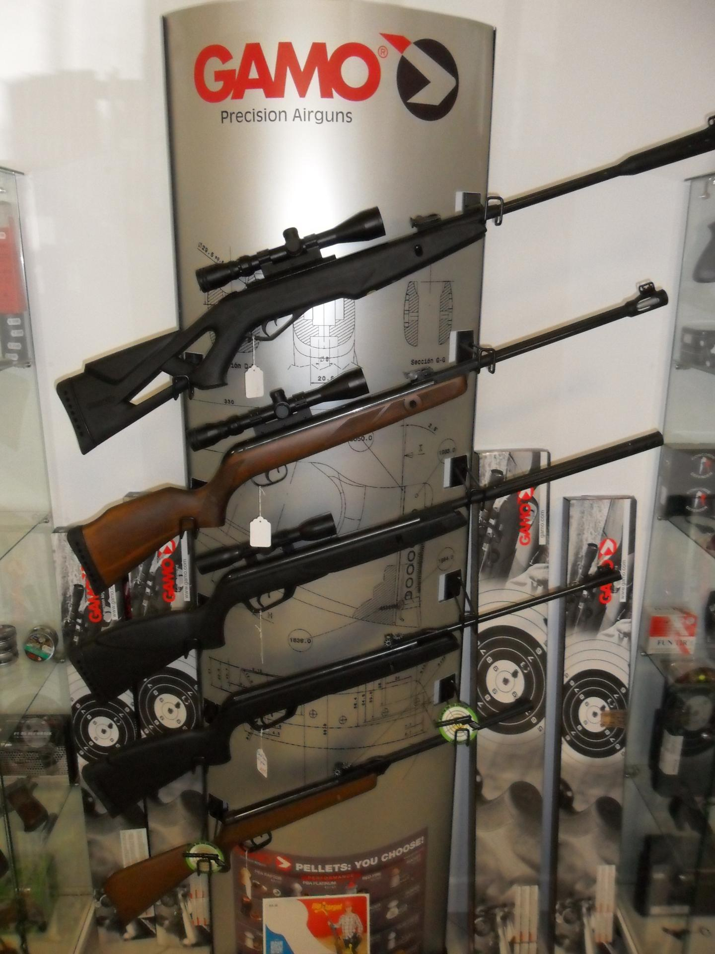 Carabines à plombs